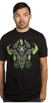 World of Warcraft Mythic Demon Hunter Class Premium T-Shirt - Black (Large)