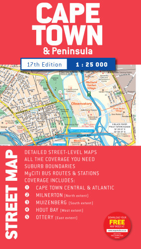 Cape Town Street Map Books Online Raru