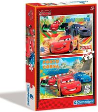 Clementoni - Cars Puzzle (2x20 Pieces) - Cover