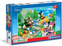 Clementoni - Mickey Mouse Clubhouse – Camping Buddies Puzzle (180 Pieces) - Cover