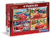 Clementoni - Cars 2 Puzzle (2x20 + 2x60 Pieces) Cover