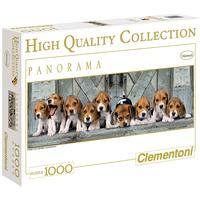 Clementoni - Panorama Beagles High Quality Collection Puzzle (1000 Pieces)