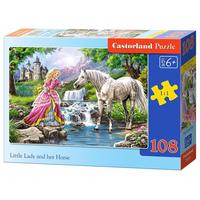 Castorland - Little Lady & Her Horse Puzzle (108 Pieces)