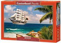 Castorland - Sailing In The Tropics Puzzle (1000 Pieces) - Cover