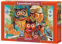 Castorland - Owls Puzzle (2000 Pieces) - Cover