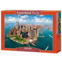 Castorland - New York Before 9/11 Puzzle (2000 Pieces)