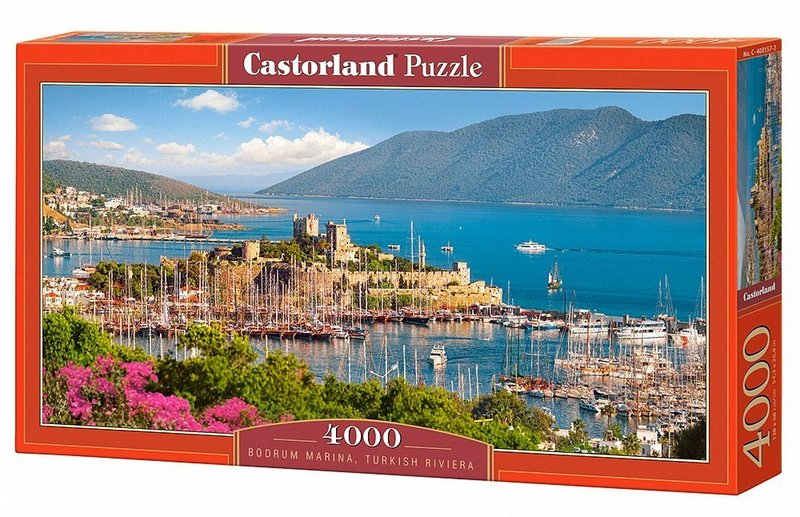 castorland bodrum marina turkish riviera puzzle 4000 pieces raru. Black Bedroom Furniture Sets. Home Design Ideas