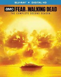 Fear the Walking Dead:Complete Second (Region A Blu-ray) - Cover