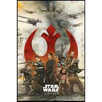 Star Wars - Rogue One Empire Rebels (Framed Poster)