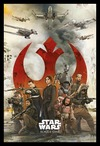 Star Wars - Rogue One Empire Rebels (Framed Poster) Cover