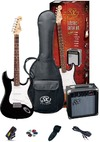 SX Electric Guitar Pack and Amp (Black)