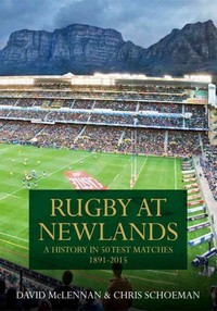 Rugby at Newlands - David Mclennan (Hardcover) - Cover