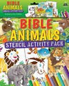 Bible Animals Stencil Activity Pack - Tim Dowley (Paperback)