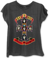 Guns N Roses – Appetite Ladies Fitted Black T-Shirt (Large)