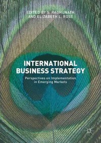 International Business Strategy (Hardcover) - Cover