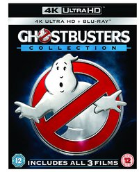 Ghostbusters 1-3 Collection (4K Ultra HD + Blu-ray) - Cover
