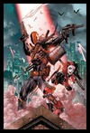 DC Comics Deathstroke and Harley Quinn (Framed Poster)