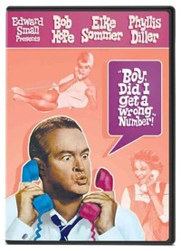 Boy Did I Get a Wrong Number (Region 1 DVD) - Cover