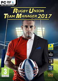 Rugby Union Team Manager 2017 (PC) - Cover