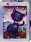 Heye - Black Kitty Puzzle (1000 Pieces) Cover
