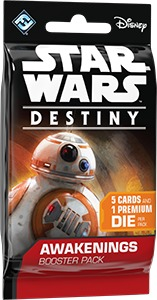 Star Wars: Destiny - Awakenings Booster Pack (Collectible Dice Game) - Cover