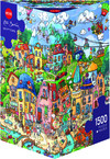 Heye - Happytown Puzzle (1500 Pieces) Cover