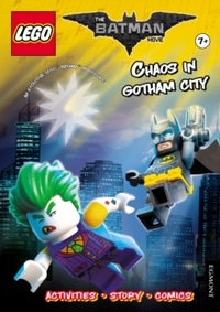 Lego the Batman Movie: Chaos In Gotham City (Activity Book With Exclusive Batman Minifigure) - Egmont Publishing UK (Paperback) - Cover