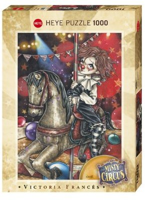 b1935e2aed64 Heye - Carousel – Misty Circus Puzzle (1000 Pieces) - Hobbies   Toys ...