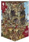Heye - Heaven and Hell, Prades Puzzle (1500 Pieces)