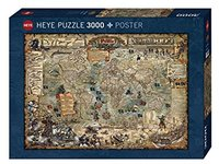 Heye - Pirate World Puzzle (3000 Pieces) - Cover