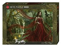 Heye - Red Puzzle (3000 Pieces) - Cover