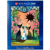 Heye - Roses Puzzle (2000 Pieces)
