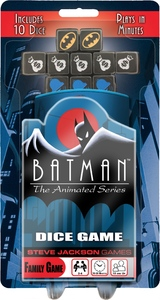 Batman: The Animated Series Dice Game - Cover
