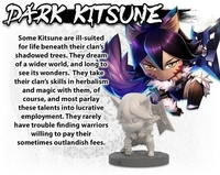 Ninja All-Stars: Dark Kitsune - Cover