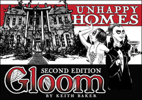 Gloom Unhappy Homes: Second Edition (Card Game) - Cover