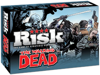 Risk: The Walking Dead (Board Game) - Cover