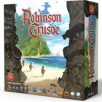 Robinson Crusoe: Adventures On the Cursed Island (Board Game) - Cover