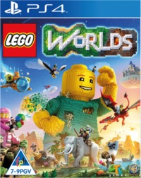 LEGO Worlds (PS4) - Cover