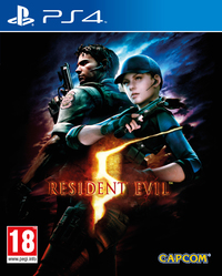 Resident Evil 5 HD (PS4) - Cover