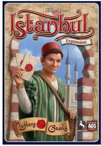 Istanbul: Letters & Seals (Board Game) - Cover