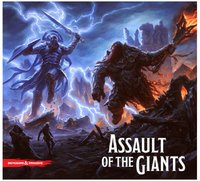Dungeons & Dragons: Assault of the Giants Board Game - Cover