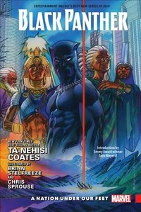 Black Panther 1 - Ta-Nehisi Coates (Hardcover) - Cover