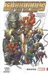 Guardians of the Galaxy: New Guard Vol. 2: Wanted - Brian Michael Bendis (Paperback) Cover