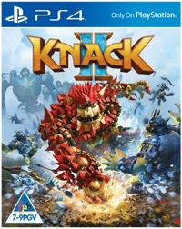 Knack 2 (PS4) - Cover