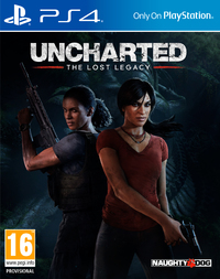 Uncharted: The Lost Legacy (PS4) - Cover