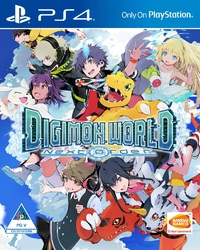 Digimon World: Next Order (PS4) - Cover