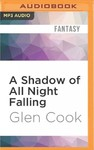A Shadow of All Night Falling - Glen Cook (CD/Spoken Word)