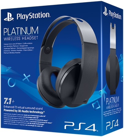 Sony Playstation Platinum Wireless Headset Ps4