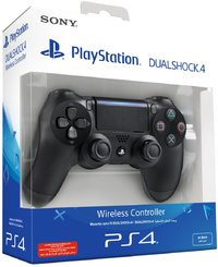 Sony - New DUALSHOCK 4 Wireless Controller V2 - Black (PS4) - Cover