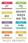 Seven Ways We Lie - Riley Redgate (Paperback)